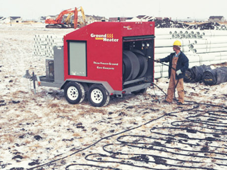 Arapahoe Rental Ground Thaw Heater Rentals
